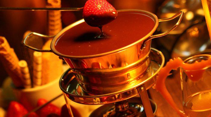 Fondue, Fondue Chalezinho, Chalezinho Fondue, Fondue de Chocolate